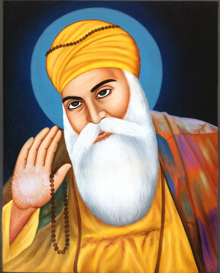 Presenting an extremely fine and detailed work of art depicting the first Guru and founder of Sikhism – Guru Nanak.