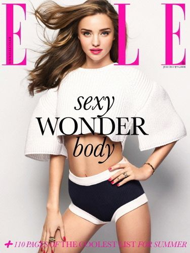 Elle Korea July 2013