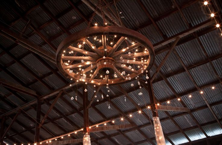 Wagon Wheel Chandelier Countrified Pinterest