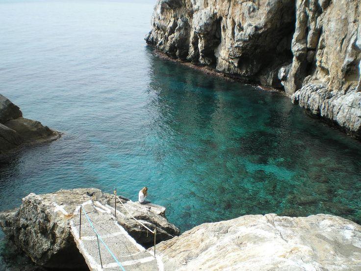 A secret paradise for just a few. #panagia #krifti #beaches #lesvos #summer
