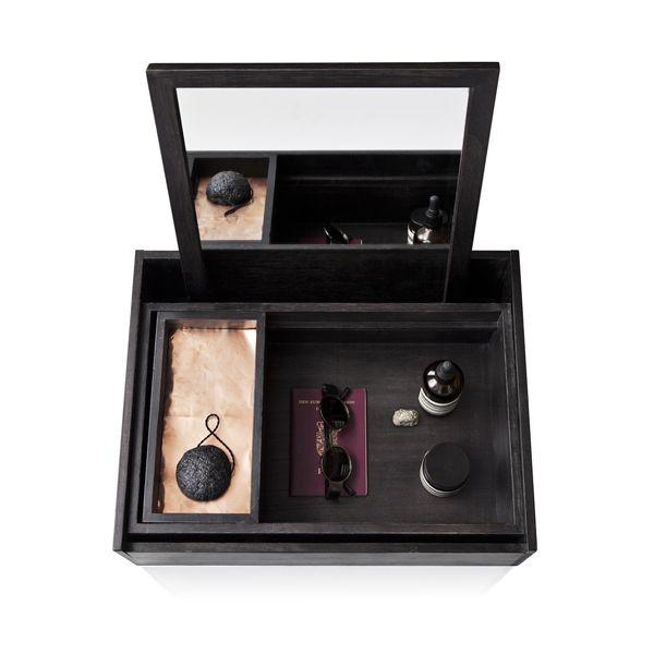 coiffeuse Balsa Box noire et cuivre http://www.serendipity.fr/coiffeuse-Balsa-Box-noire-et-cuivre/4-2917/p