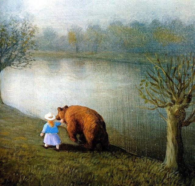 ♡: Illustrations Art, Michaelsowa, Michael Sowa, The Artists, Frames Pictures, Art Prints, Bears Dogs, Big Bears, Fairies Tales