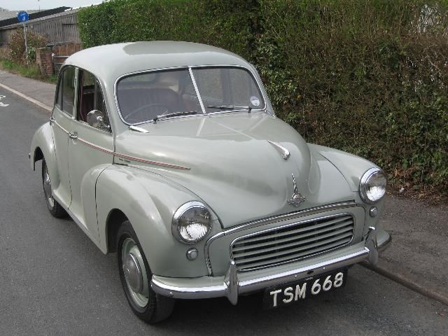 I think mine was a muckier grey than this. Can't even remember how I came by it, or why! One thing I do remember is coming down a very long incline on the drum brakes, with them fading away to almost nothing.