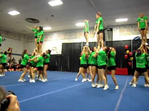 Central Cheer Jackets - Level 6 All girl