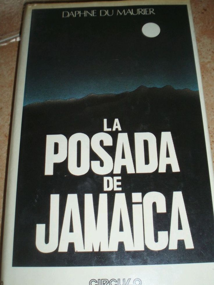 Libro la posada de jamaica (Daphne Dumaurier)
