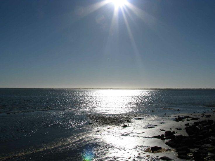 El océano desde la playa en Puerto Saavedra. // The ocean from the beach in Puerto Saavedra. (IX Región)
