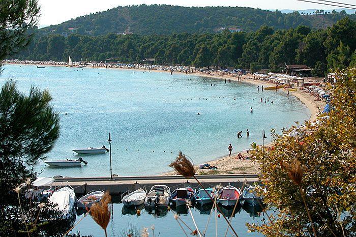 Skiathos, Koukounaries Beach, Greece