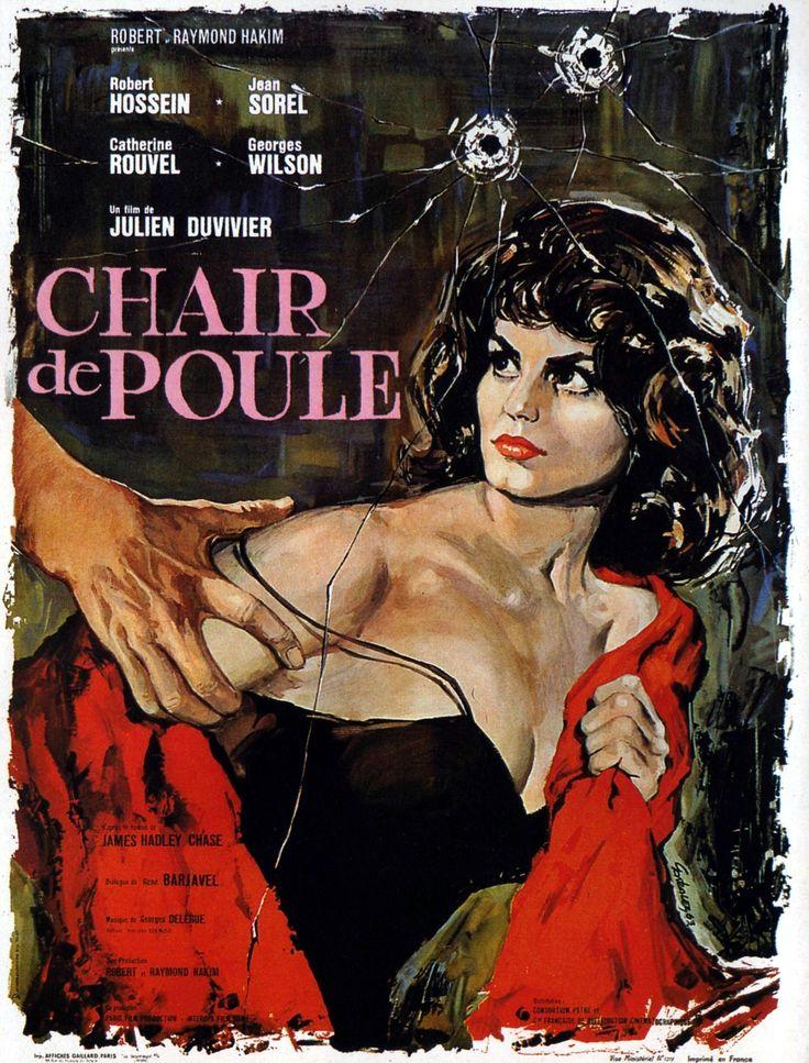 Chair de poule (1963)Stars Robert Hossein, Jean Sorel