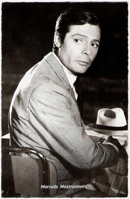 Marcello Mastroianni in Casanova 70 by Truus, Bob & Jan too!, via Flickr