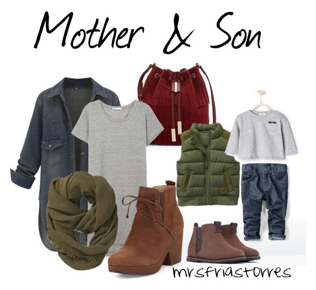 Mother & Son | Matching Fall Outfit by mrsfriastorres on Polyvore featuring polyvore, fashion, style, Eileen Fisher, Vince Camuto, Athleta and Zara