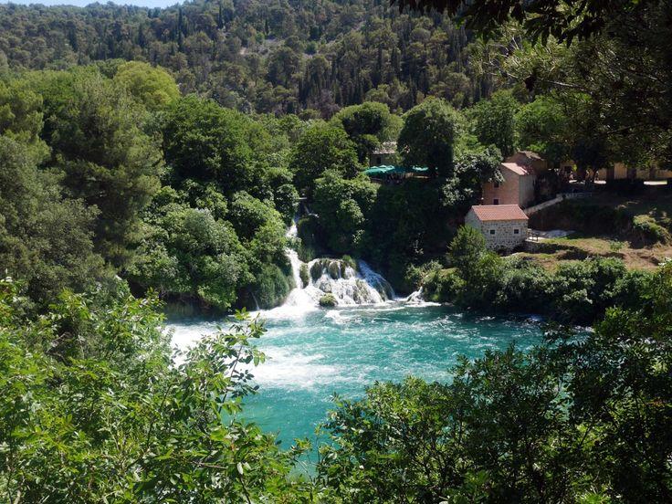 Krka National Park - the sister park to Plitvice midway between Split and Zadar.