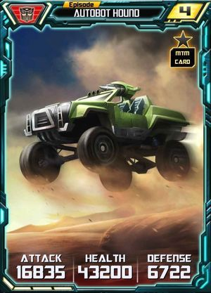 Episode Autobot Hound - Alt MTM