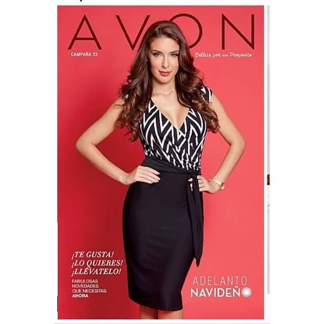 Miss Universal Petite 2014 in the cover of AVON