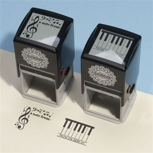 Music Notes Self-Inking Stamp