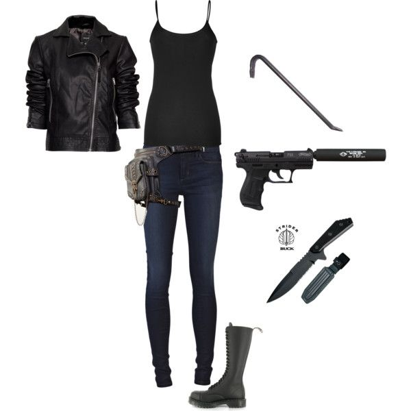 """""""My zombie gear for women"""" by victoria-silverstein on Polyvore"""