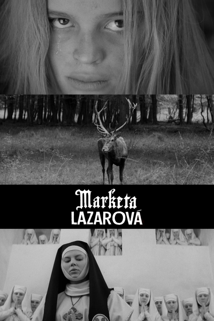 Marketa Lazarová  Regie: Frantisek Vlácil Mit: Magda Vásáryová  Demnächst im Kino und auf DVD & Blu-ray!
