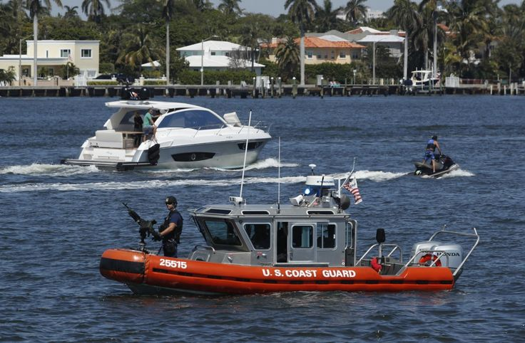 The Coast Guard spent about $1 million in protection expenses every time President Trump went to his Florida estate.