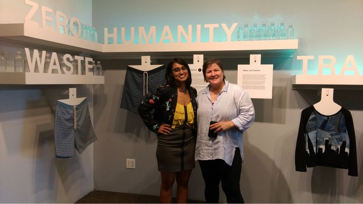 Our talented Apurba went to New York last week for the very first time! In this picture she is at the BF+DA center of the Pratt Institute of Design. She is with Deborah Johnson. brrrº is helping them with the student entrepreneur project called TexTile.