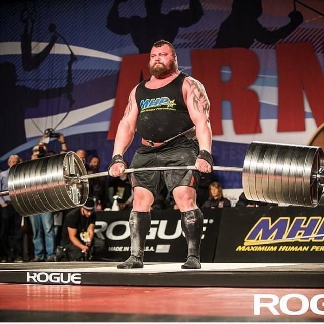 Asea Athlete And Strongman Eddie Hall Set A New World Record For