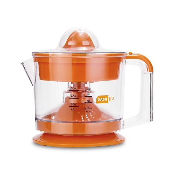 Dash Go Orange Citrus Juicer Crate And Barrel