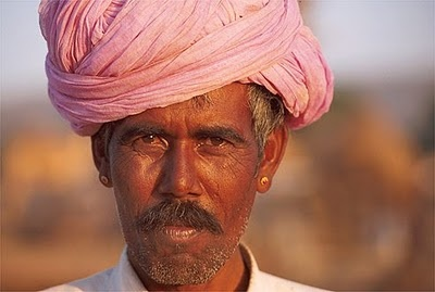I like this color of  pink turban