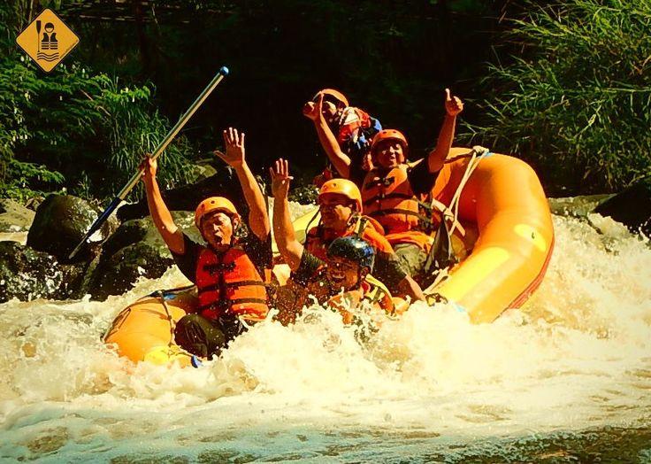 Rafting di Batu - Outbound Pemkab Lumajang