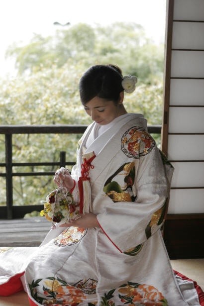 Uchikake - Japanese wedding