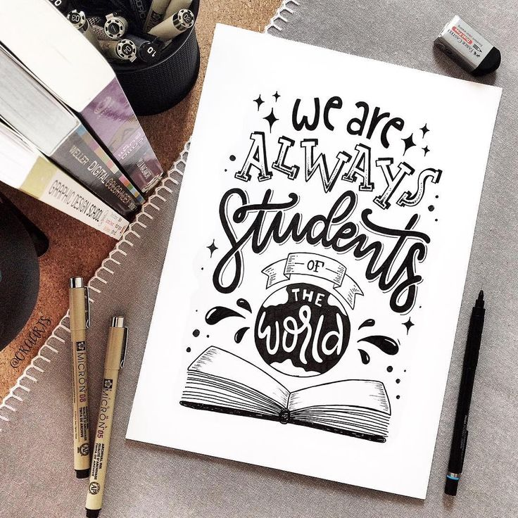 "2,251 Likes, 17 Comments - Ora Siripin (@oraarts) on Instagram: ""Always learning!!!✨ . I like this quote from @pimtha . . 82/365 of my project #365daysoflettering…"""