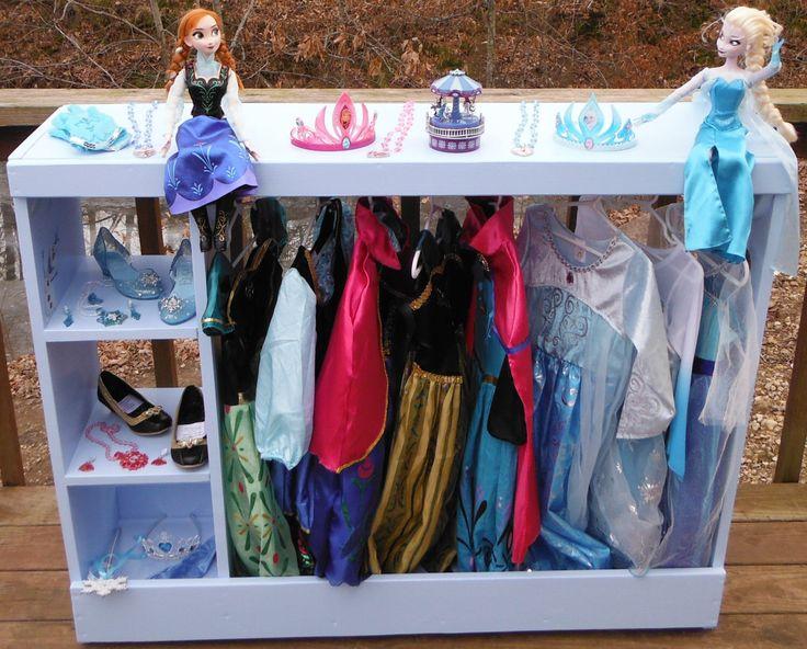 Kids Dress Up Station,Dress Up Storage,Dress Up Closet,Dress Up Center,Costume Storage,Princess Dressup,Super Hero Dressup,Kids Closet by HummelCreations on Etsy https://www.etsy.com/listing/198891697/kids-dress-up-stationdress-up