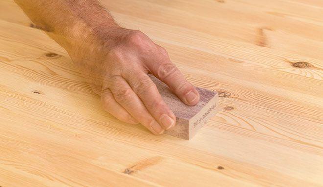 GÖR DET SJÄLV Möbelrenovering - laga märken i gamla möbler