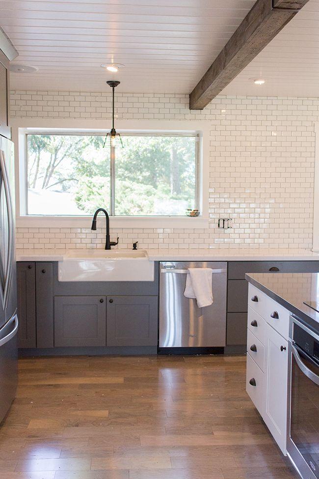 Jenna Sue: Kitchen Chronicles: A DIY Subway Tile Backsplash, Part 1