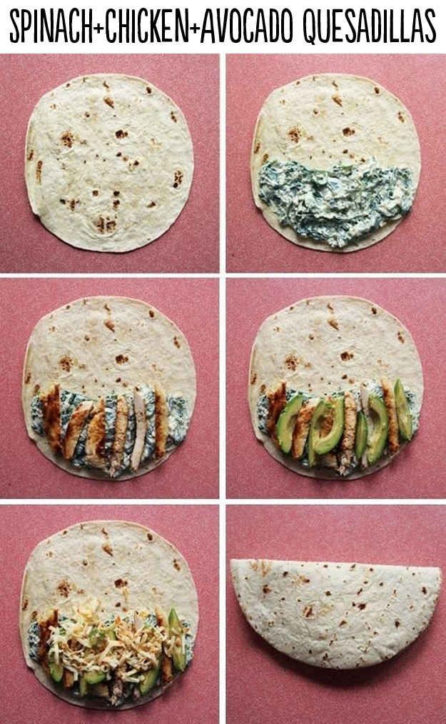 http   www takeamegabite com spinach chicken quesadillas  Need    To Spinach You Know Avocado Quesadillas About      Lifechanging Quesadillas hyperfuse Chicken