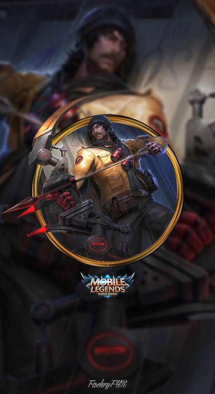 Wallpaper Mobile Legend Alucard Fiery Inferno Kumpulan