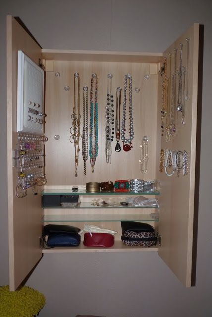 37 best Jewelry Organizers images on Pinterest Jewelry storage