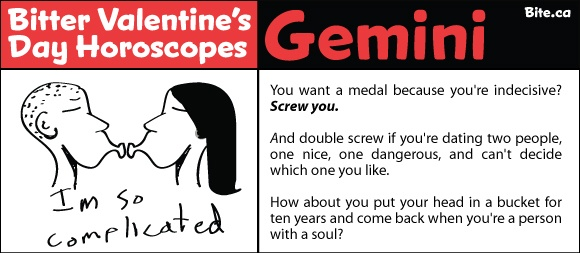 valentine's day zodiac sign
