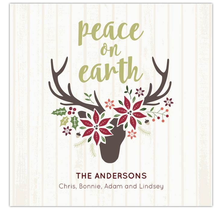 15 Fabulous and Free Christmas Ecards for Everyone You Know: Peace on Earth from Ladybirddee