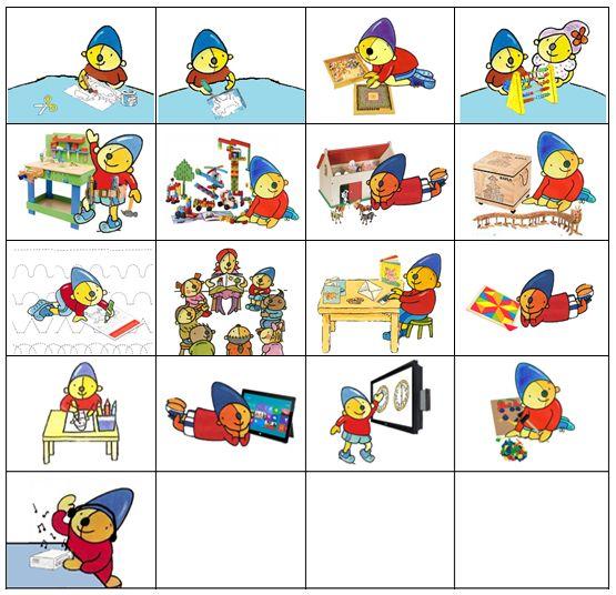 Planbordkaarten van Pompom | Methode SCHATKIST (taalkast, rekenkast…