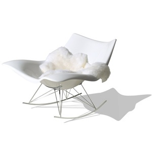 Stingray gyngestol/rocking chair by Thomas Pedersen