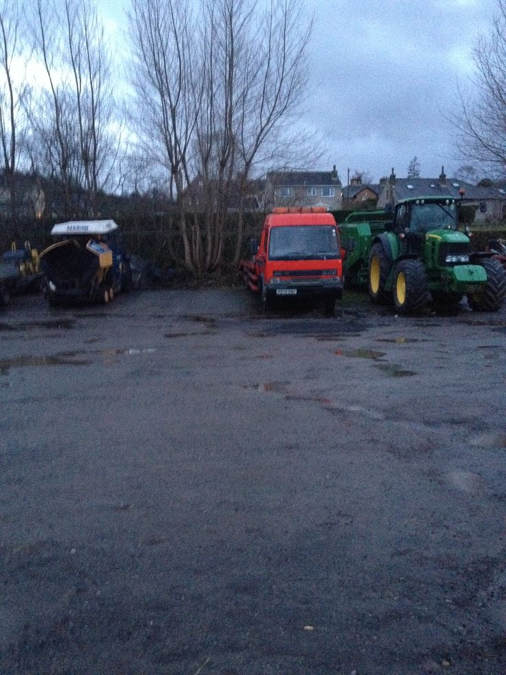 HX yard parking