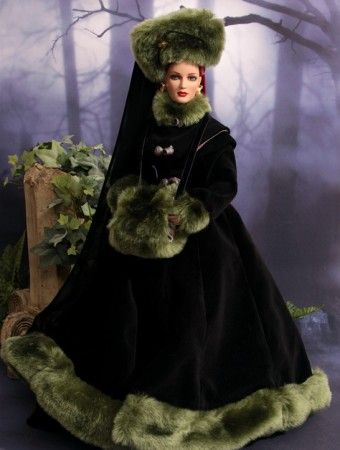 """#pinned @terriGoldDolls """"Hearts Aflame: Wearing Wicked Witch Forest Stroll"""" new to doll duels #dollchat ^kv"""
