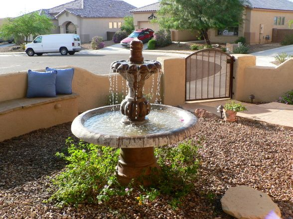 Top 25 best southwestern outdoor fountains ideas on for Spanish style fountains for sale