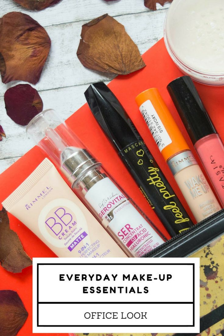 So now I have a daily routine, and I use more or less the same products everyday. They help me achieve a natural office look, not too intense, but really flattering for my features and style.