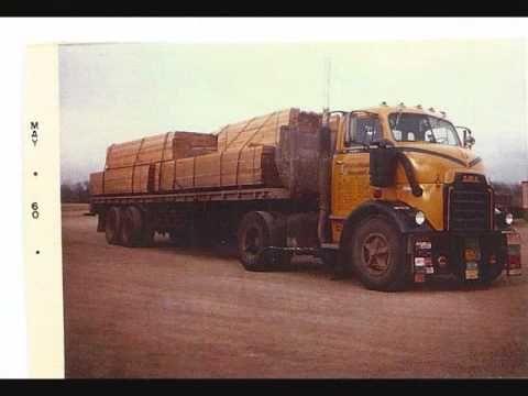 60's era trucks from International Transport inc. - YouTube