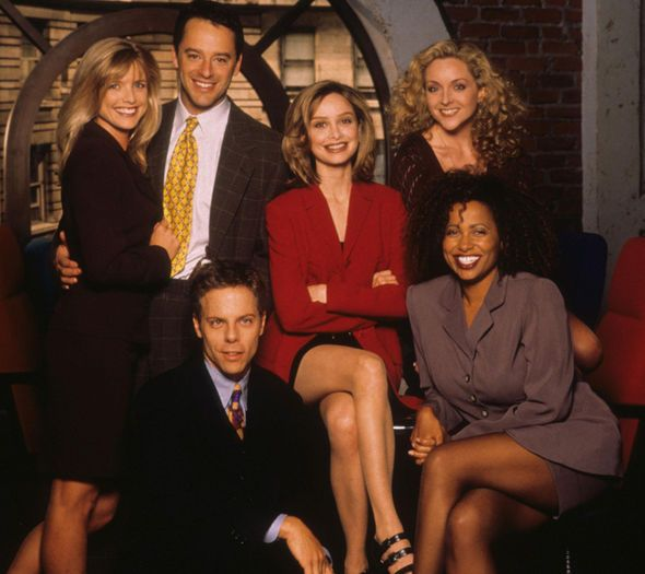 TV Ally McBeal, seasons 1-5, 2016