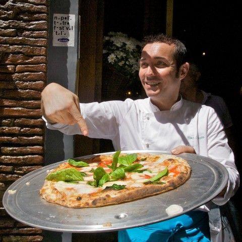 Gino Sorbillo's Pizza. Best pizza in the world.