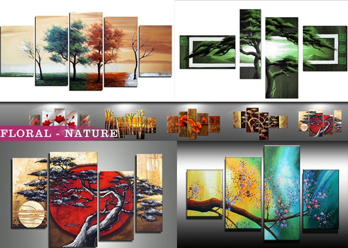 Which tree artwork you like? Some of our best selling tree paintings! www.fabuartgallery.com  #artpainting #homedecor