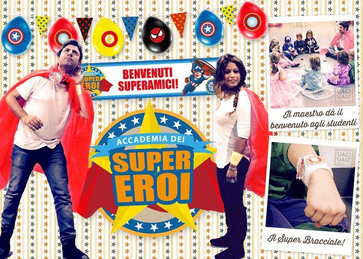 Benvenuti Superamici! I maestri danno il benvenuto agli studenti. Il Super Bracciale.