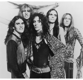 Alice Cooper? This was the best group. I attended a show back in the early 70's at Madison Square Garden. Air was so creepy When they cut his head off during the show ( it looked like it anyway). Billion Dollar Babies was my favorite.