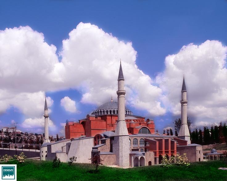Hagia Sophia (Ayasofya), Miniaturk, Istanbul, Turkey g.co/maps/3ws5k