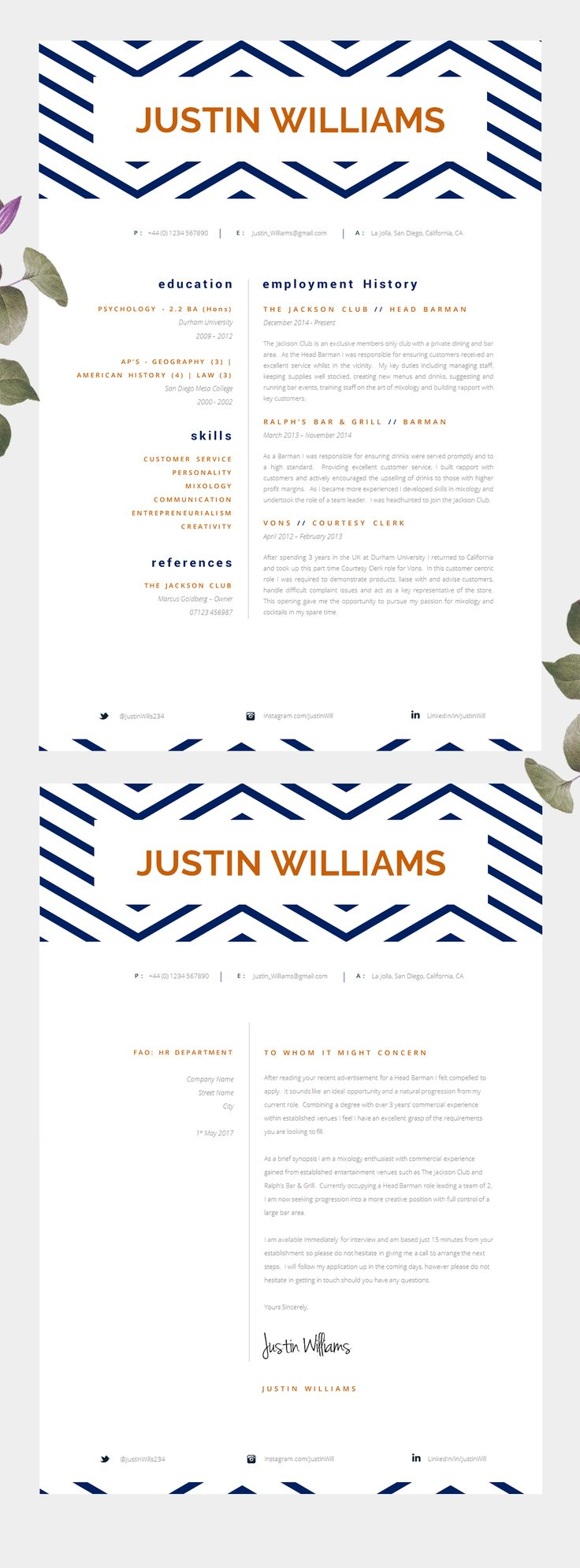 Best Resume Design Layouts Images On Pinterest Cover - 17 hilarious examples that show the importance of proper letter spacing
